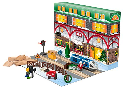 BRIO World Christmas Advent Calendar 2020 for Kids age 3 years and up, 33848