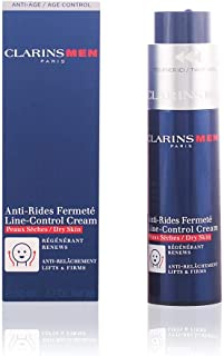 Clarins Men Line-Control Cream for Dry Skin, 1.7 Ounce