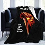 931 Michael Myers Warm Micro Fleece Throw Blankets,Bed Blanket and Sand Blanket,Suitable for Home and Outdoor Use 60'X50'