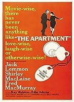 アパートヴィンテージ映画ポスター装飾壁画アートプリントポスター壁アート壁の装飾写真ホームオフィスの装飾20x28inch-50x70cmフレームなし