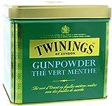 Twinings Gunpowder blik mint - Polvos para pesca (200 g), color verde menta