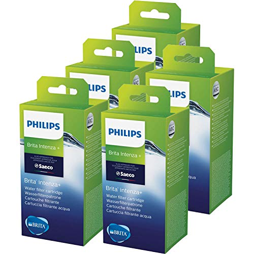 Saeco Intenza+ Wasserfilter von BRITA, Filter, Kartusche, 5er Pack