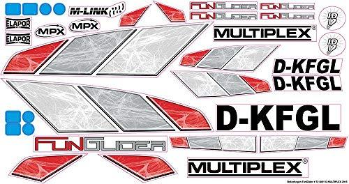 724801 - Multiplex Dekorbogen FunGlider