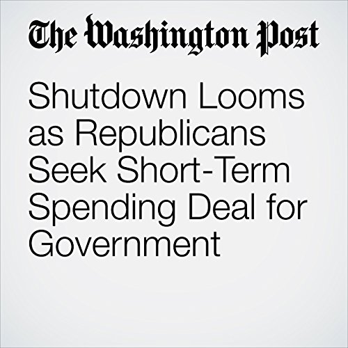 Shutdown Looms as Republicans Seek Short-Term Spending Deal for Government copertina