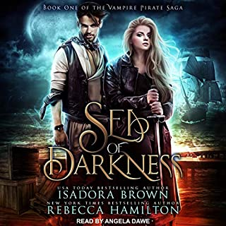 Sea of Darkness audiobook cover art