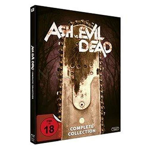 Ash vs Evil Dead Staffel 1+2 - Limited Uncut Mediabook Edition (Platz fuer Staffel 3) B-W [Blu-ray Set]