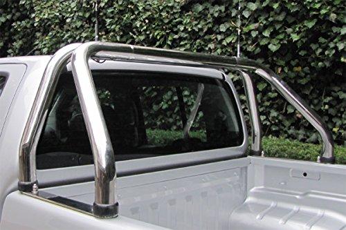 Edelstahl Überrollbügel 63,5mm für Pickup's - universell passend - verstellbar passend für Ladeflächenbreite von 1500-1680 mm.