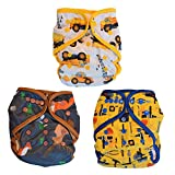 Best All In One Cloth Diapers - Layla Mae All in One Baby Boy Cloth Review