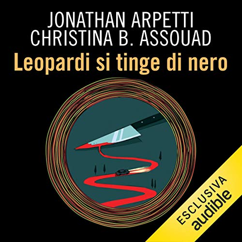 Leopardi si tinge di nero audiobook cover art