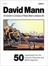 David Mann BOOK-A-ZINE #4 Summer 2017 Rare Biker Art