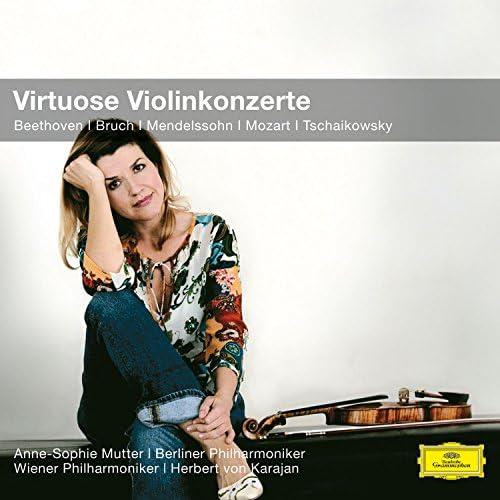 Anne-Sophie Mutter, Berliner Philharmoniker, Wiener Philharmoniker & Herbert von Karajan
