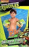 Nickelodeon Teenage Mutant Ninja Turtles 3D Arm Floats - Double Chambers - Swim Time Fun!