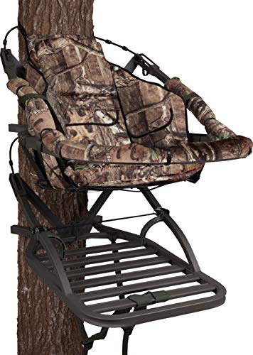 Summit Treestands 180 Max SD Climbing Treestand, Mossy Oak (Pack of 1) Maine