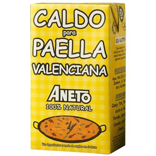 Aneto Caldo para Paella Brühe für Paella nach Valencianischer Art, 1000 ml