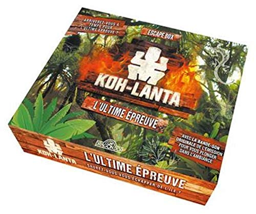 Koh-Lanta - L'ultime épreuve - Escape game enfant de 2 à 5 joueurs - Dès 8 ans (2)