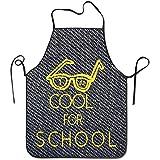 Katrine Store Delantal de barbacoa de la escuela de cocina demasiado fresco