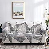 ASCV Fundas de sofá elásticas universales para Sala de Estar sofá Toalla Funda de sofá Antideslizante Funda de sofá elástica A2 4 plazas