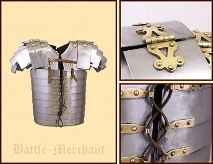 Battle-Merchant Lorica Segmentata (Corbridge A), aus aus aus rostfreiem Stahl, Gr. L - Rüstung der römischen Legionäre B00N8NAVK0     | Verkaufspreis  017881