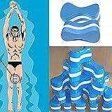 FAVOLOOK Pull-Buoy-Schwimmhilfe aus Schaumstoff, verbessert die Schwimmhaltung, Schwimm-Trainingshilfe für Erwachsene, Senioren, Kinder, blau