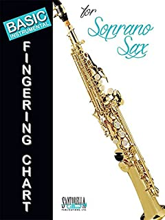 soprano saxophone fingering chart
