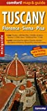 Tuscany Comfort! Map & Guide: Florence, Siena, Pisa (City Plans)