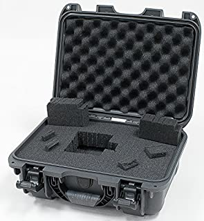 Nanuk 915 Waterproof Hard Case with Foam Insert   Graphite