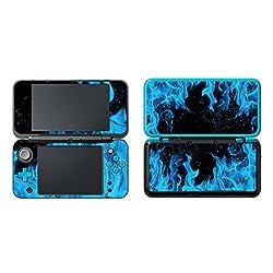 Uushop Coque Skin en Vinyle Autocollant de Protection Wrap pour New Nintendo 2DS XL/LL Ice Blue Flame: Amazon.fr: Informatique