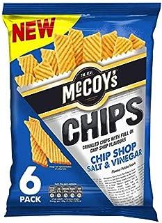 McCoy's Chip Shop Salt & Vinegar Multipack - 6 x 25g