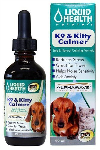 Liquid Health Calming Supplement for Dogs and Cats, K9 Kitty Calmer to Calm Dogs and Cats