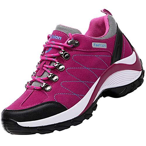 Unitysow Zapatos de Senderismo Hombre Mujer Al Aire Libre Antideslizantes Escalada Deportivo...