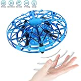 JCT Mini Drone for Kids UFO Flying Ball Toys,Hand Controlled Interactive Infrared Induction Helicopter Ball...