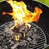 iCleaners Carbón biológico vegetal ideal para barbacoas Lotus Grill madera de leña, fabricado en Italia | seleccionado a mano (5 kg)