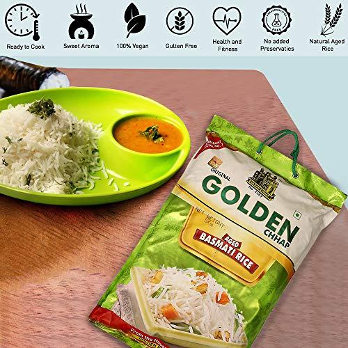 Lal Qilla Golden Chhap Traditional Basmati Rice 5Kg - Gluten Free