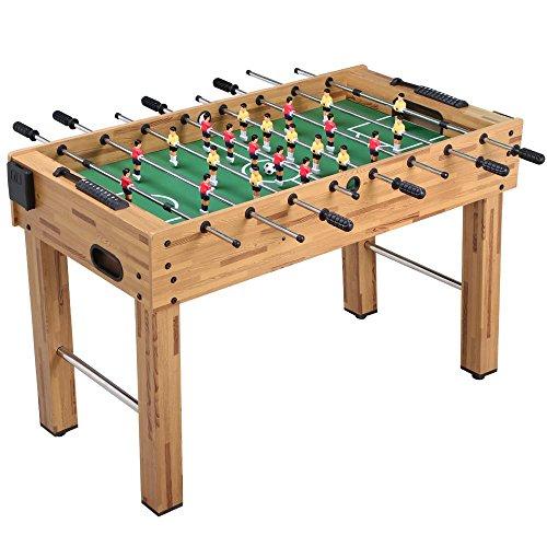 Yaheetech 48'' Deluxe Foosball Table Soccer Arcade Game Table Soccer Table Game Room Football Table Sports