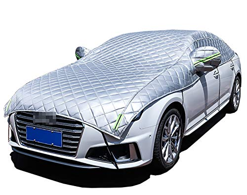 CARCOVERCJH Fundas para Coche Compatible con la Funda para automóvil de Bentley Continental, la Funda para automóvil con algodón y Material Compuesto Grueso, Disponible en Todas Las Estaciones