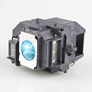 Lanwande ELPLP54 / V13H010L54 Replacement Lamp Bulb with Housing For EPSON EB-S7 EB-S72 EB-S8 EB-S82 EB-W7 EB-W8 EB-X7 EB-X72 EB-X8 EB-X8e EH-TW450 EX31 EX51 EX71 H309A H310C H311B H312A H312C H327A H