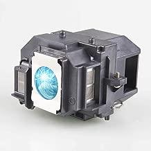 Lanwande V13H010L54/ELPLP54 Reemplazo de la lámpara del proyector para EPSON EB-S7 EB-S8 EB-S82 EB-X8 EH-TW450 EX31 EX51 H310C H311B H328B, PowerLite HC 705HD 79 S7 S8+ W7 Proyectores