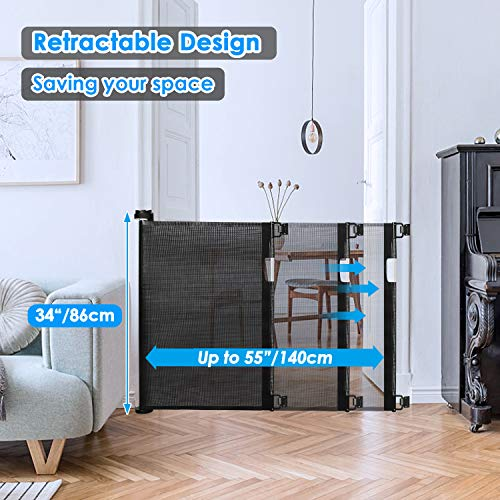 51n45ayGbvL The 7 Best Retractable Baby Gates of 2021 [Review]