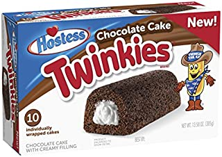 Hostess Chocolate Cake Twinkies Multipack, 10Count