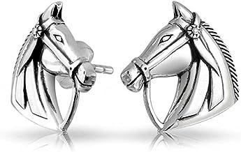 Argent sterling Melchior Jewellery Bo/îte incluse Boucles doreilles cr/éoles hypoallerg/éniques en forme de fer /à cheval pour filles et femmes