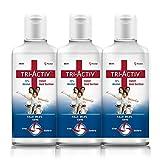 Tri-Activ 72% Alcohol Based Instant Hand Sanitizer – (500 ml)- Pack of 3