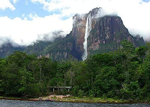 Monte Roraima, Venezuela, Roraima 1000 Piezas De Rompecabezas Grueso Engrosado Regalos De Cumpleaños para Niños