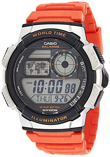 AE-1000W-4B Casio Youth Mens Digital Grey Casual Quartz Casio