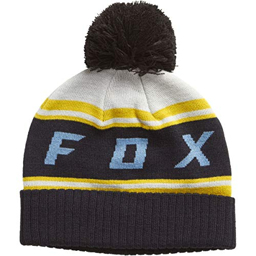 Fox Beanie Black Diamond Pom, Grey, Größe OS