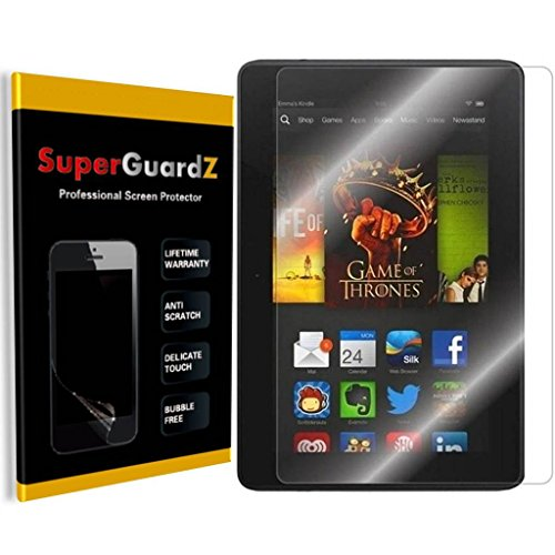 [3-Pack] For Kindle Fire HDX 7 (3rd Gen, 2013 Release) - SuperGuardZ Anti-Glare Matte Screen Protector, Anti-Fingerprint, Anti-Scratch, Anti-Bubble