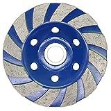 Latinaric –Hoja para lija de hormigón, 100 mm, azul