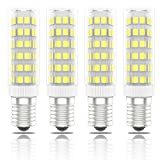 Phoenix-Bombillas LED E14 7W, 60W Halógena Equivalente, Blanco Frío 6000K, 560lm,Pack de 4 Unidades