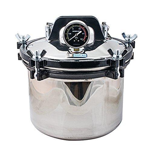 8L Dental Equipo de vapor Autoclave esterilizador 220 V con doble sistema de calefacción