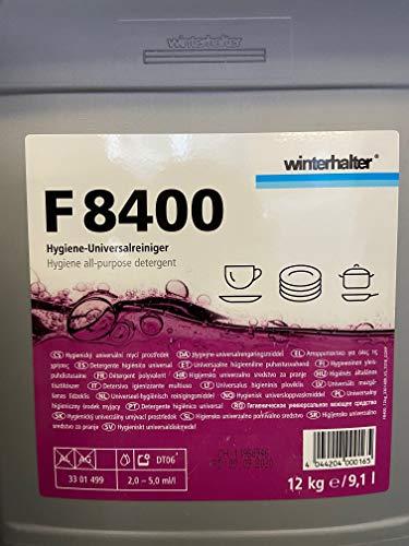 Winterhalter Geschirrspülmittel F-8400 12 kg Kanister für gewerbliche Spülmaschinen