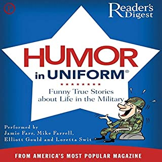 Readers Digest's Humor in Uniform cover art